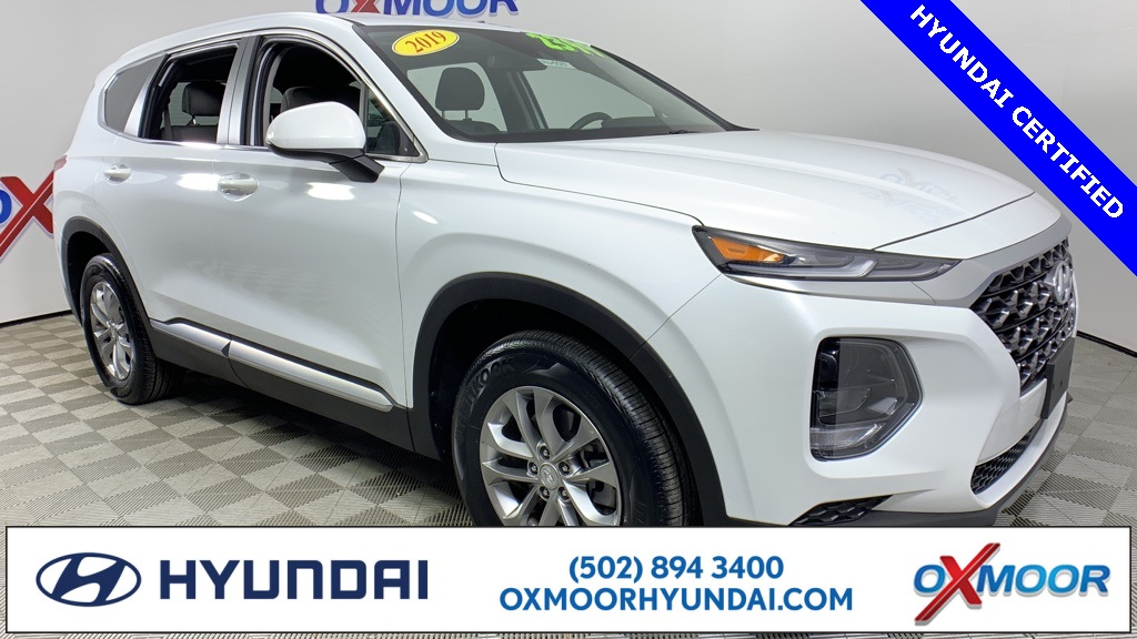 Hyundai Certified Pre-Owned >> Certified Pre Owned 2019 Hyundai Santa Fe Se 2 4 Fwd 4d Sport Utility